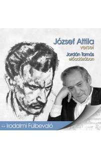 József Attila versei hangoskönyv (audio CD)