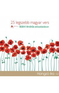 25 legszebb magyar vers hangoskönyv (audio CD)