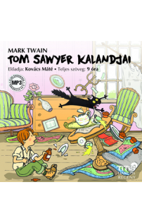 Mark Twain: Tom Sawyer kalandjai hangoskönyv (MP3 CD)