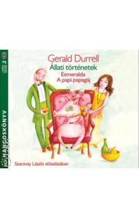 Gerald Durrell: Állati történetek hangoskönyv (audio CD)