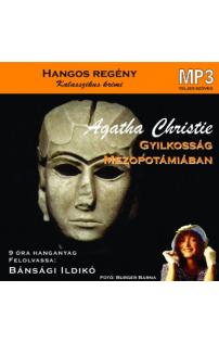 Agatha Christie: Gyilkosság Mezopotámiában hangoskönyv (MP3 CD)
