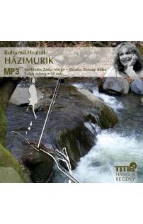 Bohumil Hrabal: Házimurik hangoskönyv (MP3 CD)