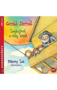 Gerald Durrell: Léghajóval a világ körül hangoskönyv (MP3 CD)