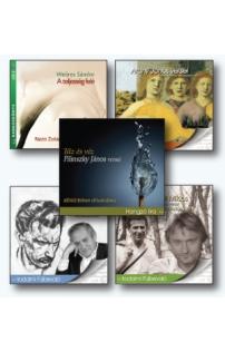 Magyar líra – 5 hangoskönyv (MP3 CD)