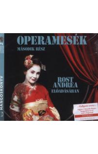 Tótfalusi István: Operamesék II. rész hangoskönyv (audio CD)