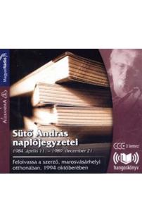 Sütő András naplójegyzetei hangoskönyv (audio CD)