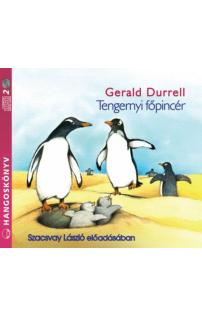 Gerald Durrell: Tengernyi főpincér hangoskönyv (audio CD)
