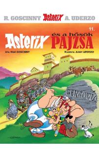 Asterix és a hősök pajzsa - Asterix képregények 11.