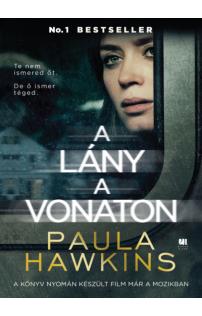 Paula Hawkins: A lány a vonaton - filmes borítóval