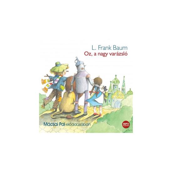 L. Frank Baum: Oz, a nagy varázsló - hangoskönyv (mp3 CD)
