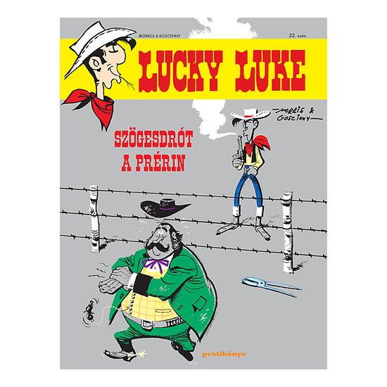 Szögesdrót a prérin - Lucky Luke képregények 22.